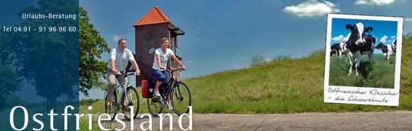 Ostfriesland : Urlaub und Ferien im Reise Land Ostfriesland - Online-Buchung Veranstaltungen Reiseangebot
